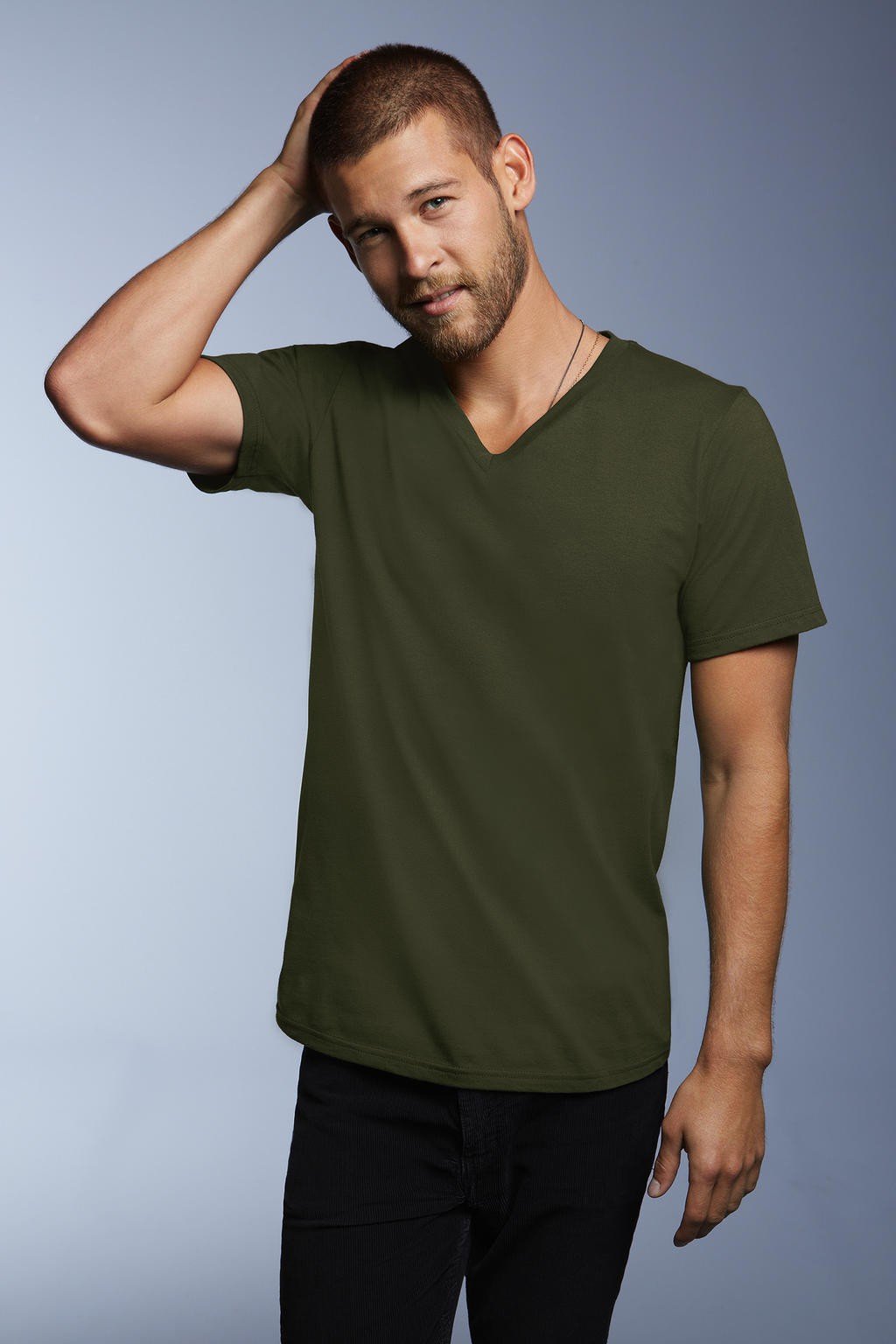 Anvil: Adult Fashion V-Neck Tee 982