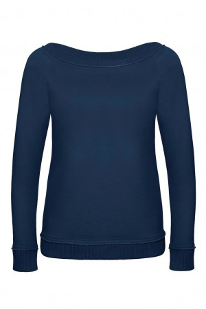 B&C: Ladies` Wide Neck Raglan Sweat DNM Invincible Women WWD21 – Bild 3