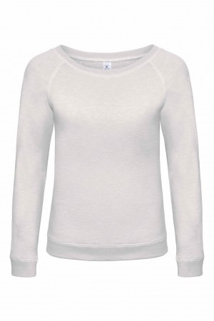 B&C: Ladies` Vintage Raglan Sweatshirt DNM Starlight Women WWD23 – Bild 2