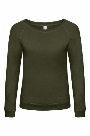 B&C: Ladies` Vintage Raglan Sweatshirt DNM Starlight Women WWD23 – Bild 6