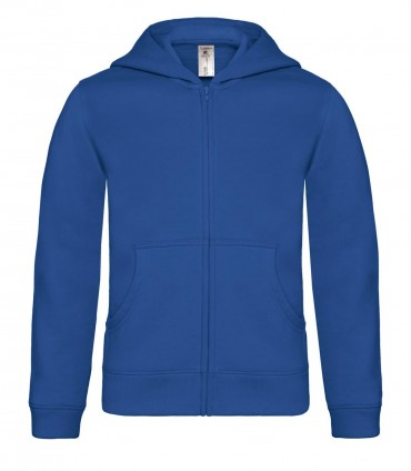 B&C: Kids` Hooded Full Zip WK682 – Bild 5