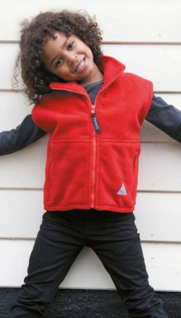 Result: Kids` Fleece Bodywarmer R037J/Y – Bild 1