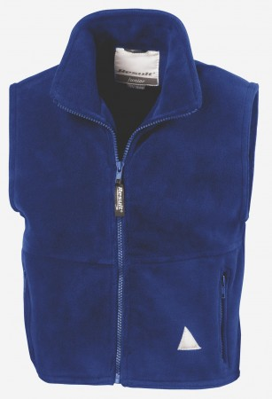 Result: Kids` Fleece Bodywarmer R037J/Y – Bild 4