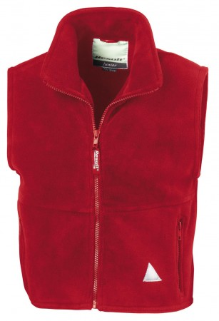 Result: Kids` Fleece Bodywarmer R037J/Y – Bild 5