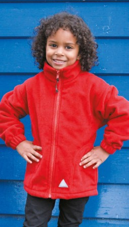 Result: Kids` Fleece Jacke R036J/Y – Bild 1
