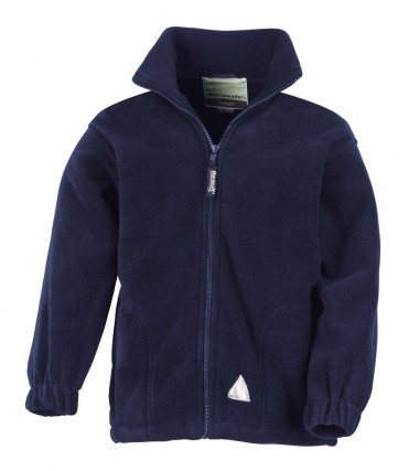 Result: Kids` Fleece Jacke R036J/Y – Bild 4