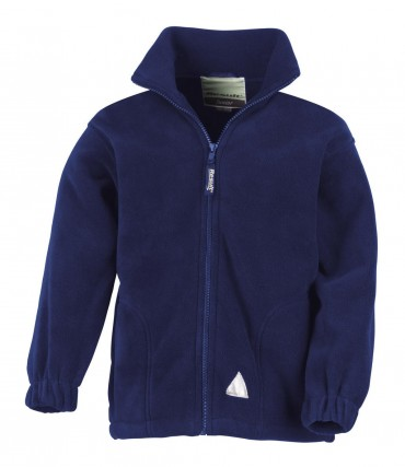 Result: Kids` Fleece Jacke R036J/Y – Bild 5