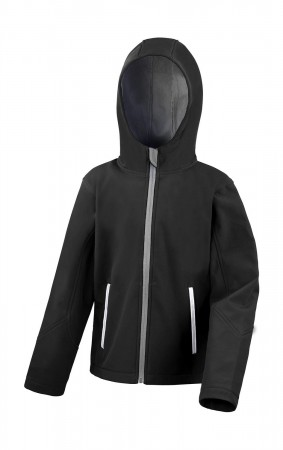 Result: Kids TX Performance Hooded Softshell Jacket R224J/Y – Bild 2