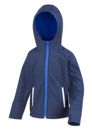 Result: Kids TX Performance Hooded Softshell Jacket R224J/Y – Bild 3