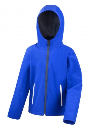 Result: Kids TX Performance Hooded Softshell Jacket R224J/Y – Bild 5