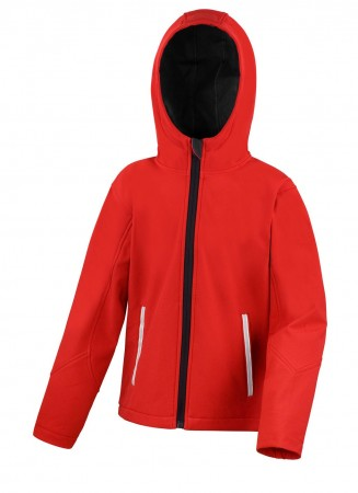 Result: Kids TX Performance Hooded Softshell Jacket R224J/Y – Bild 6