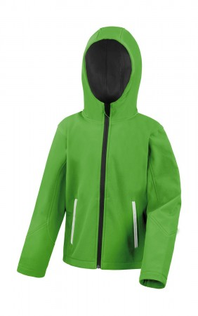 Result: Kids TX Performance Hooded Softshell Jacket R224J/Y – Bild 7