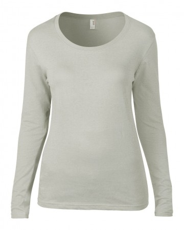Anvil: Ladies Sheer LS Scoop Tee 399 – Bild 8