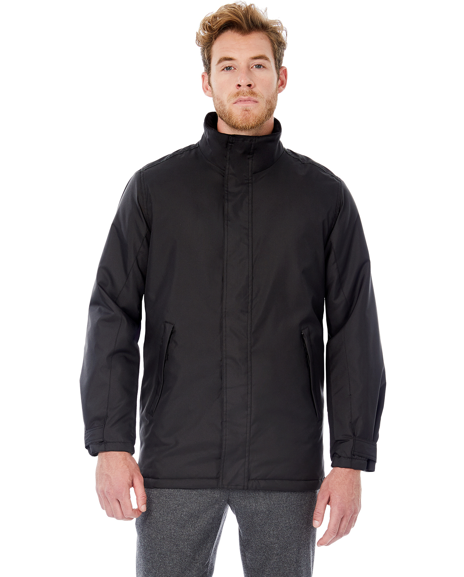B&C: Men`s Heavy Weight Jacket Real+ Men JM970
