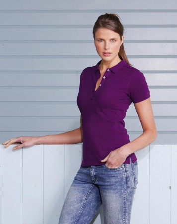 Russell Europe: Ladies' Stretch Polo R-566F-0 – Bild 1