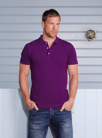 Russell Europe: Men`s Stretch Polo R-566M-0 – Bild 1
