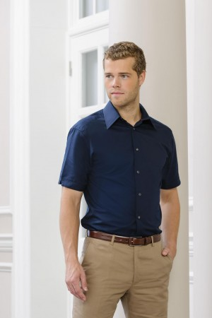 Russell Europe: Tencel Fitted Hemd R-955M-0 – Bild 1