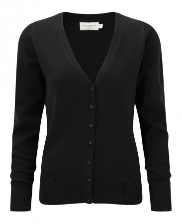 Russell Europe: Ladies` V-Neck Knitted Cardigan R-715F-0 – Bild 2