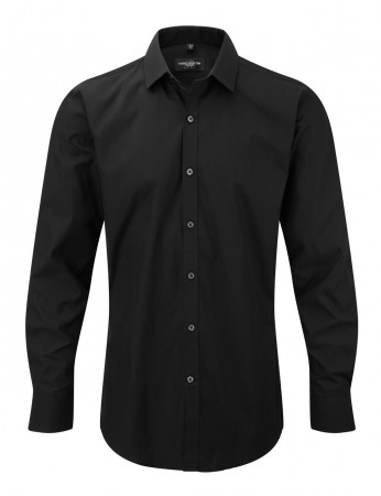 Russell Europe: Men`s LS Ultimate Stretch Shirt R-960M-0 – Bild 3