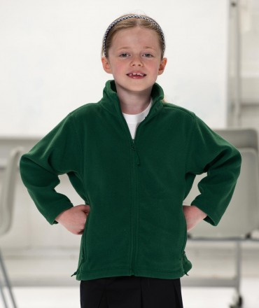 Russell Europe: Kids` Full Zip Outdoor Fleece R-870B-0 – Bild 1