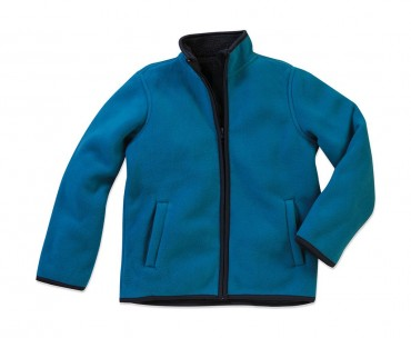 Stedman: Active Teddy Fleece Jacket Kids ST5180 – Bild 2