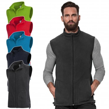 Stedman: Active Fleece Vest Men ST5010
