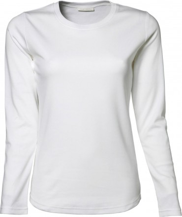 Tee Jays: Ladies LS Interlock T-Shirt 590 – Bild 2