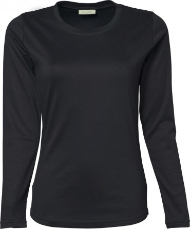 Tee Jays: Ladies LS Interlock T-Shirt 590 – Bild 4