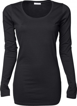 Tee Jays: Ladies Stretch LS Tee Extra Lang 457 – Bild 4
