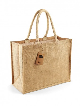 Westford Mill: Classic Jute Shopper W407 – Bild 2