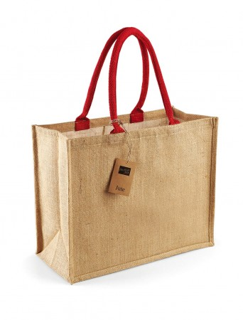 Westford Mill: Classic Jute Shopper W407 – Bild 8