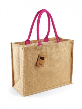 Westford Mill: Classic Jute Shopper W407 – Bild 4