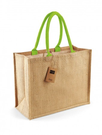 Westford Mill: Classic Jute Shopper W407 – Bild 5