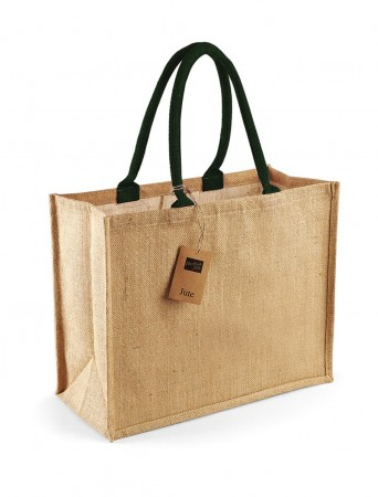 Westford Mill: Classic Jute Shopper W407 – Bild 7