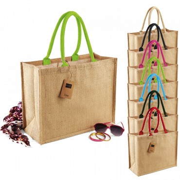 Westford Mill: Classic Jute Shopper W407 – Bild 1