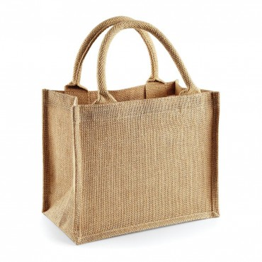 Westford Mill: Jute Mini Gift Bag W412 – Bild 2