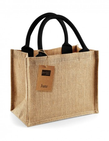 Westford Mill: Jute Mini Gift Bag W412 – Bild 6