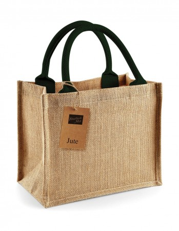 Westford Mill: Jute Mini Gift Bag W412 – Bild 3