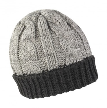 Result: Shades of Grey Knitted Hat R372X – Bild 2