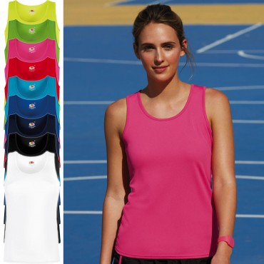 Fruit of the Loom: Lady-Fit Performance Vest 61-418-0 – Bild 1