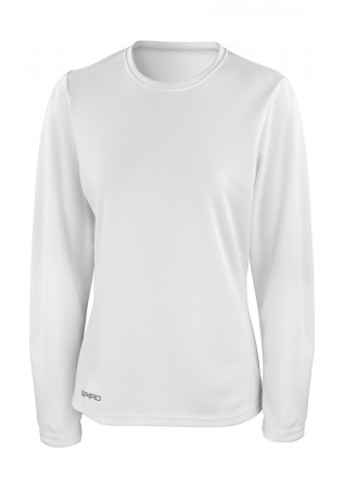 Result: Ladies` Performance T-Shirt LS S254F – Bild 1