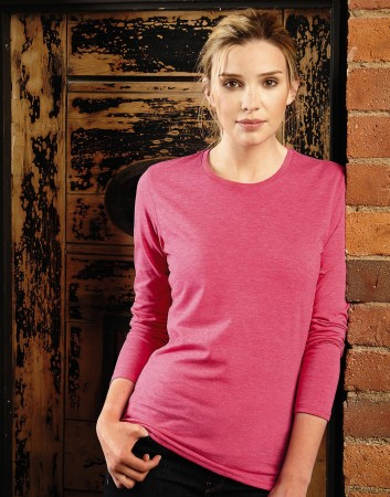 Russell Europe: Ladies Long Sleeve HD Tee R-167F-0 – Bild 1