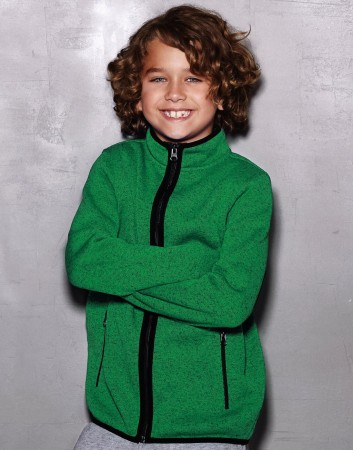Stedman: Active Knit Fleece Jacket Kids ST5970 – Bild 3