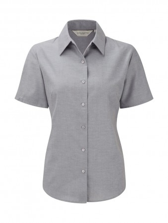 Russell Europe: Ladies` Oxford Bluse R-933F-0 – Bild 7