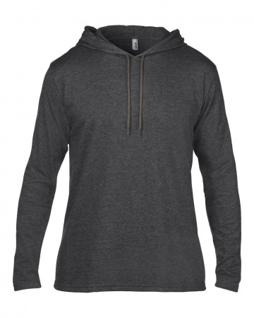 Anvil: Adult Fashion Basic LS Hooded Tee 987 – Bild 4