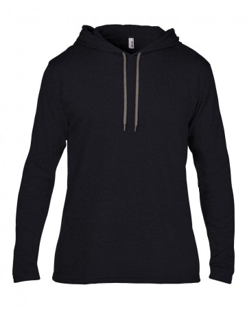 Anvil: Adult Fashion Basic LS Hooded Tee 987 – Bild 3