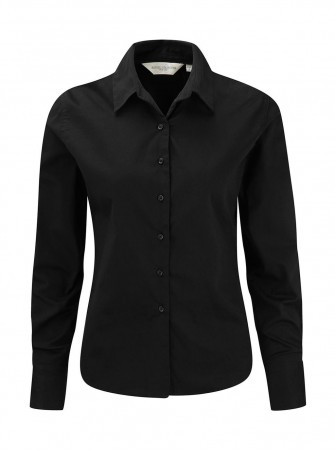 Russell Europe: Ladies` Classic Twill Shirt LS  R-916F-0 – Bild 3