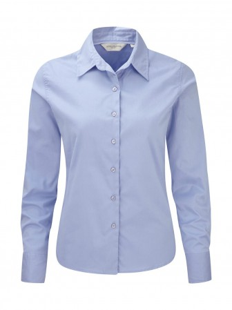 Russell Europe: Ladies` Classic Twill Shirt LS  R-916F-0 – Bild 6