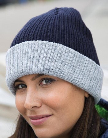 Result: Double Layer Knitted Hat RC378X – Bild 1