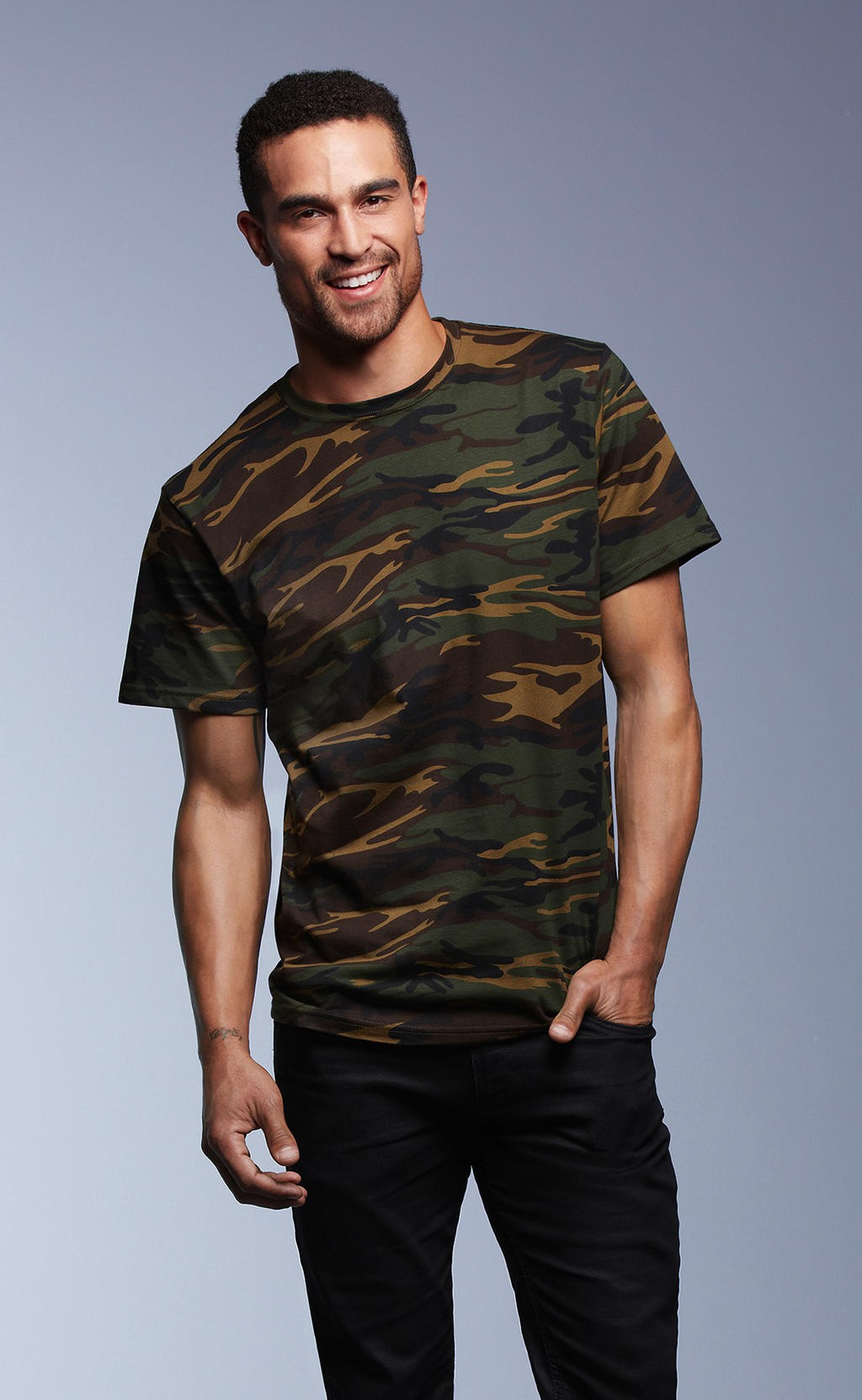 Anvil: Adult Heavyweight Camouflage Tee 939